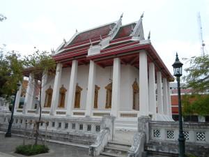 Ein Tempel in Bangkok
